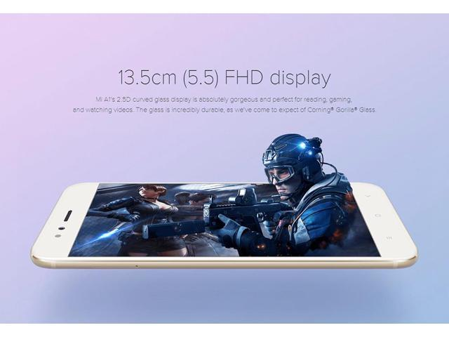 Xiaomi Mi A1 5.5 Inch 4G LTE Smartphone Snapdragon 625 Octa Core Android One 4GB 64GB