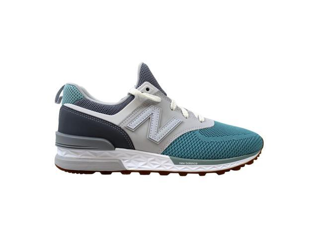 size 40 366df e3f7c New Balance 574 Sport Gunmetal/Storm Blue MS574EKW Men's Size 8 - Newegg.com