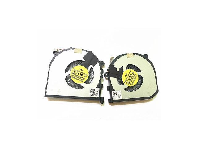 New a pair Laptop CPU GPU Cooling Fan For DELL XPS15 9550 Fan Cooler 0RVTXY  DFS501105PR0T FG11 036CV9 DFS501105PQ0T FG12 - Newegg com