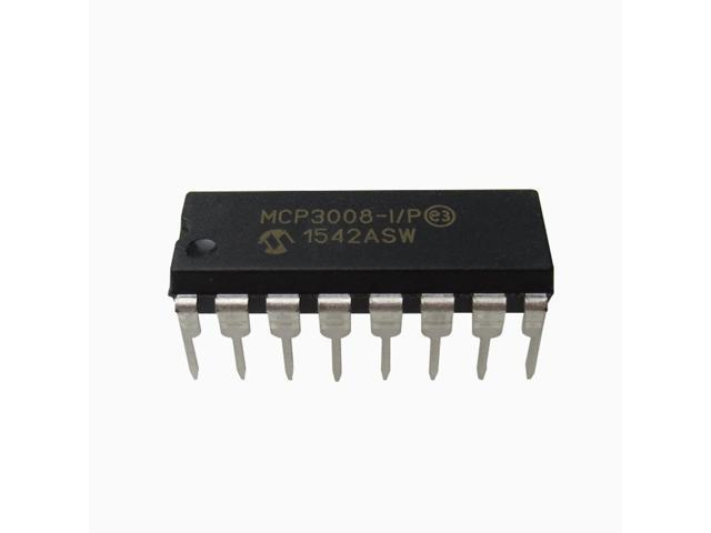 MCP3008 8-Channel 10-Bit ADC With SPI Interface for Raspberry Pi -  Newegg com