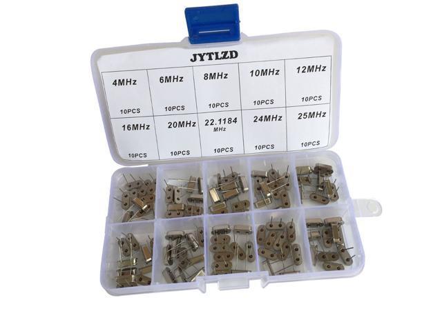 24Mhz Quartz Crystal Pack of 10