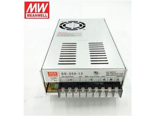 Mean Well SE-350-12 Power Supply, Enclosed, Switching, 350 W