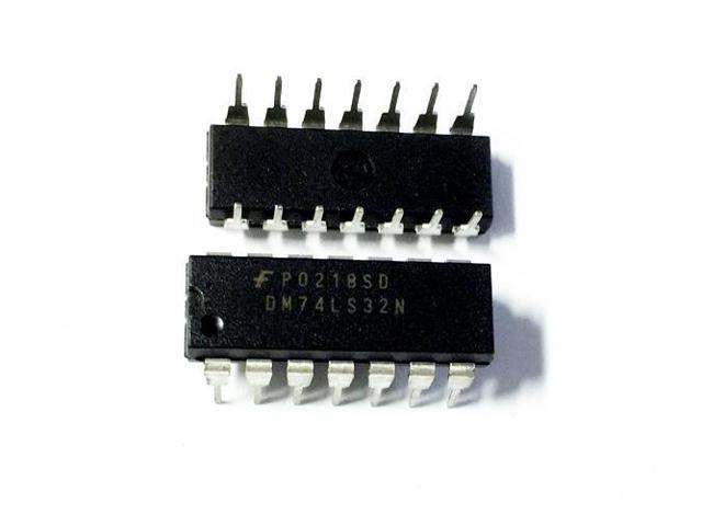 5pcs 74LS03 Quad 2-Input Positive NAND Gate with Open Collector Output DIP-14