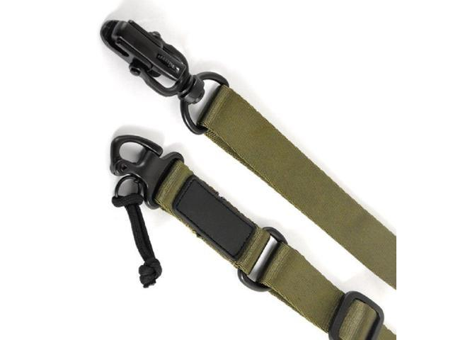 Green Tactical 2 Point Sling Multi Mission Quick Release ms2 type -  Newegg com