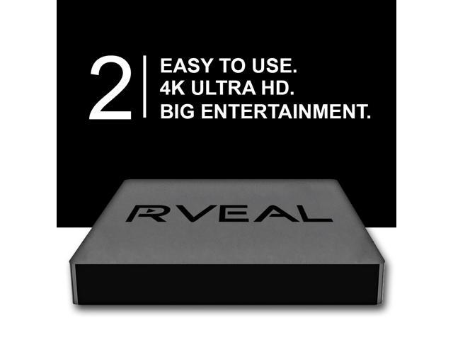 Rveal 2 Streaming Media Player & Mini Touchpad Remote [4K Ultra HD, Octa  Core S912, Android TV Box, Elite Streaming] - Newegg com