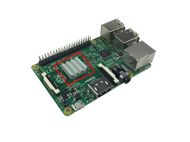 10 PCS Ceramic Heat Sinks CPU Cooling dissipador for Raspberry Pi 3 2B Orange Pi