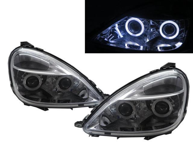 Mercedes A-Class W168 Blue 4-LED Xenon Bright Side Light Beam Bulbs Pair Upgrade