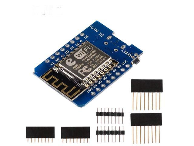 D1 Mini NodeMCU and Arduino WiFi LUA ESP8266 ESP-12 WeMos Microcontroller