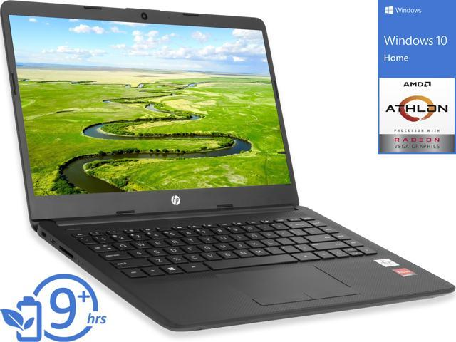 Hp 14 Notebook 14 Hd Display Amd Athlon Silver 3050u Upto 3 2ghz 8gb Ram 256gb Ssd Vega 3 Hdmi Card Reader Wi Fi Bluetooth Windows 10 Home Newegg Com