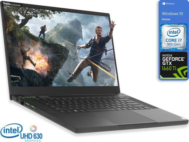 Razer Blade 15 Gaming Notebook 15 6 144hz Fhd Display Intel Core I7 9750h Upto 4 5ghz 32gb Ram 1tb Nvme Ssd Nvidia Geforce Gtx 1660 Ti Hdmi Mini Displayport Thunderbolt Windows 10 Home Newegg Com