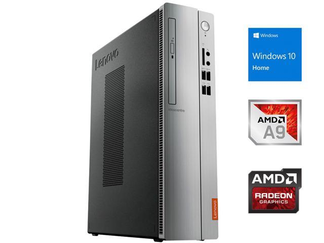 Lenovo IdeaCentre 310S Desktop SFF, AMD Dual-Core A9-9425 Upto 3.7GHz, 16GB RAM, 128GB SSD, DVD-RW, VGA, HDMI, Card Reader, Wi-Fi, Bluetooth, Windows 10 Home