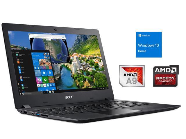 Acer Aspire 3 Notebook 14 Hd Display Amd A9 9420e Upto 2 7ghz 8gb Ram 128gb Ssd Hdmi Card Reader Wi Fi Bluetooth Windows 10 Home Newegg Com