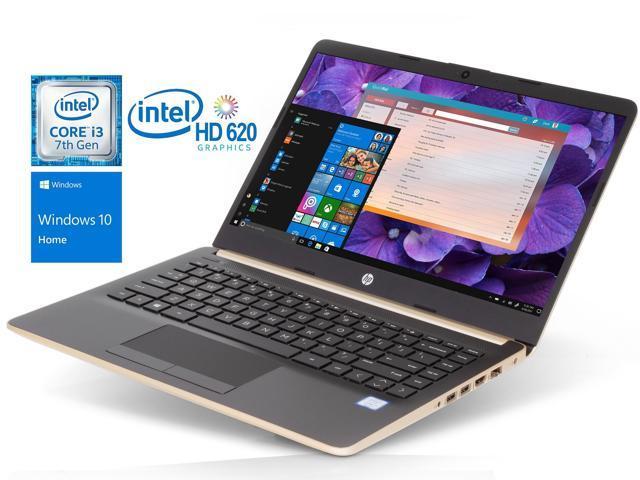 Hp 14 0 Hd Notebook Intel Dual Core I3 7100u 2 4ghz 8gb Ddr4 256gb Ssd Hdmi Card Reader Intel Hd Graphics 620 1x Usb 3 1 Type C 2x Usb 3 1 Wi Fi Bluetooth Windows 10 Home