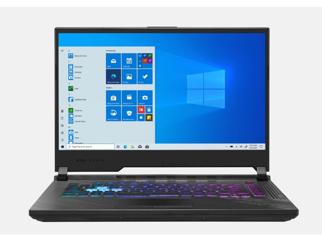 "New Asus ROG Strix 15.6"" FHD Gaming Laptop   Intel Core i7-10870H Processor   NVIDIA GeForce RTX 2060   16GB RAM   512GB SSD   RGB Keyboard   Windows 10 Home"