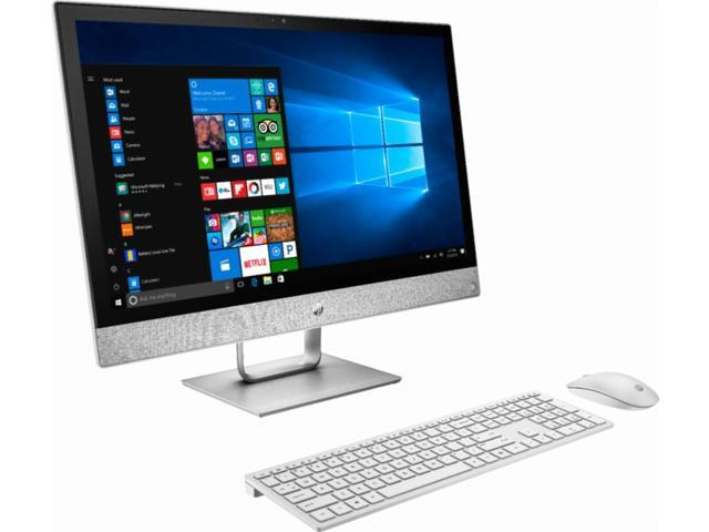 HP Pavilion All-in-One 23 8 inch Full HD High Performance Desktop| Intel  Core i5-8400T | 12GB DDR4| 2TB HDD | DVD/CD Burner| WIFI | Bluetooth|  Windows