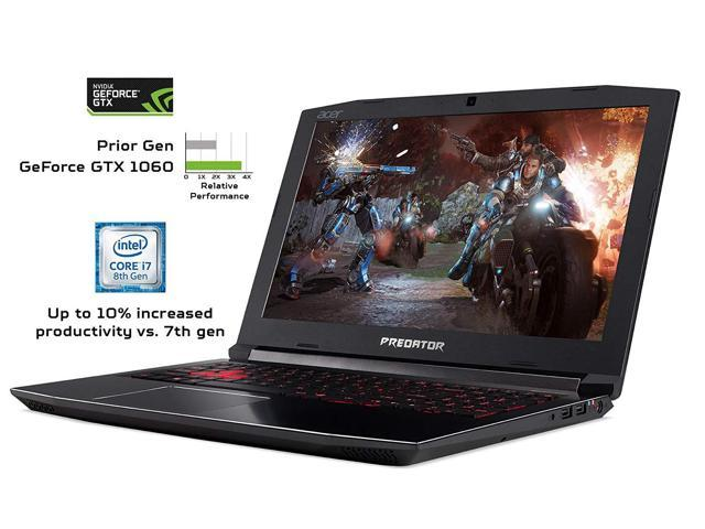 2019 Flagship*Acer Predator Helios Gaming Laptop( Intel 6-Core i7-8750H,32GB DDR4 ,512G SSD)|15.6 FHD Widescreen IPS display 144Hz Refresh Rate|NVDIA GeForce GTX 1060 6GB| Immersive Sound |  VR-Ready