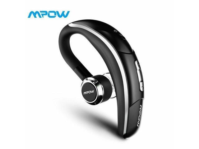 Mpow Wireless Bluetooth 5 0 Headset Headphones Ear Hook Mic For Iphone Samsung Newegg Com
