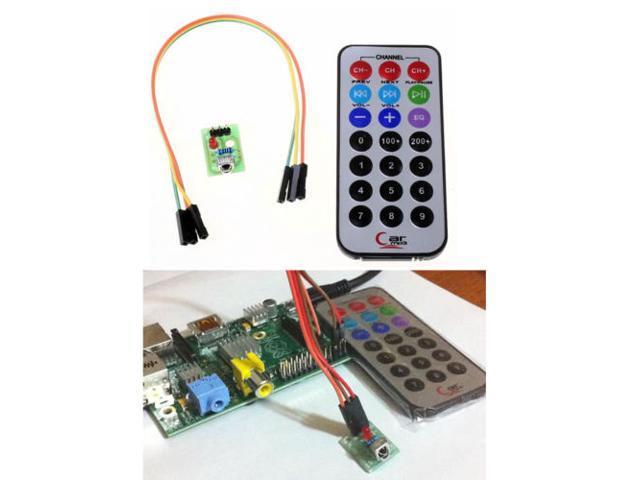 Raspberry Pi Infrared Remote Control IR Receiver Module DIY Kit HX1838 -  Newegg com