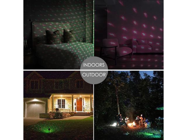 Christmas Projector.Christmas Star Laser Projector Light Led Moving Outdoor Landscape Stage Rgb Lamp Newegg Com