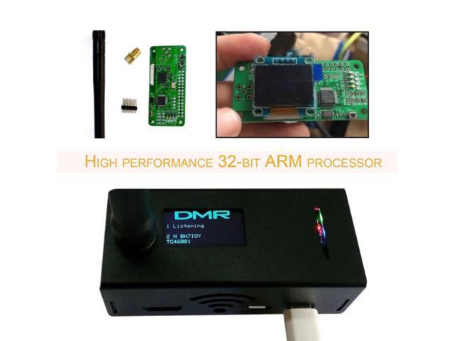 Assembled MMDVM hotspot Support P25 DMR YSF + raspberry pi  +OLED+Antenna+Case - Newegg com