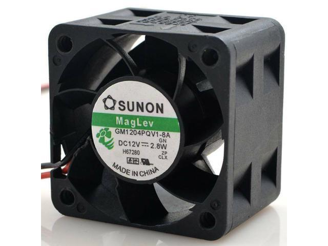 GM1204PQV1-8A Maglev F.GN Fan for sunon 40*40*28mm 2pin 12V 2.8W Cooling fan