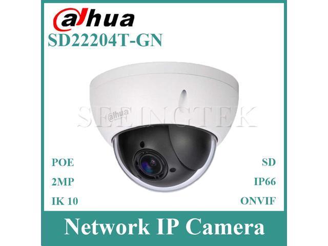 Dahua 2MP 4x Optical Zoom PTZ HDCVI Dome Camera WDR 1080P IP66 IK10 SD22204I-GC