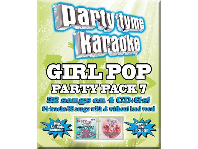 Universal Music Group Party Tyme Karaoke - Girl Pop Party Pack 7 [4CD] -  Newegg com