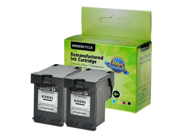 1PK Color Ink Compatible with HP 63XL Deskjet 2131 2132 2133 2134 3PK Black