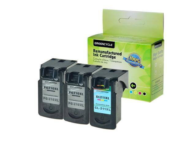 2-pk PG210 CL211XL Ink Cartridge Set for Canon PIXMA MX360 MX410 MX420 MP230