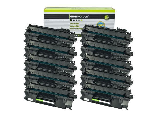 10 PK High Yield CE505A 05A Toner For HP LaserJet P2035n P2050 P2055dn P2055x