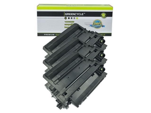 3PK CE255X 55X Toner Cartridge For HP LaserJet P3015d Enterprise 500 MFP M525dn