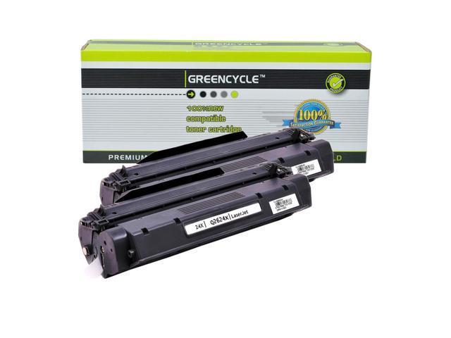 2PK Q2624X 24X High Yield Black Toner Cartridge For HP LaserJet 1150