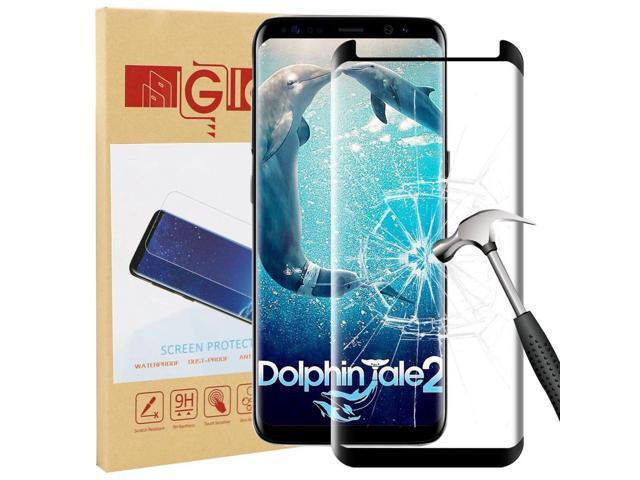 Samsung Galaxy S9 Tempered Screen Protector Hi-Sensitive Touch, + Back Up  Glass - Newegg com