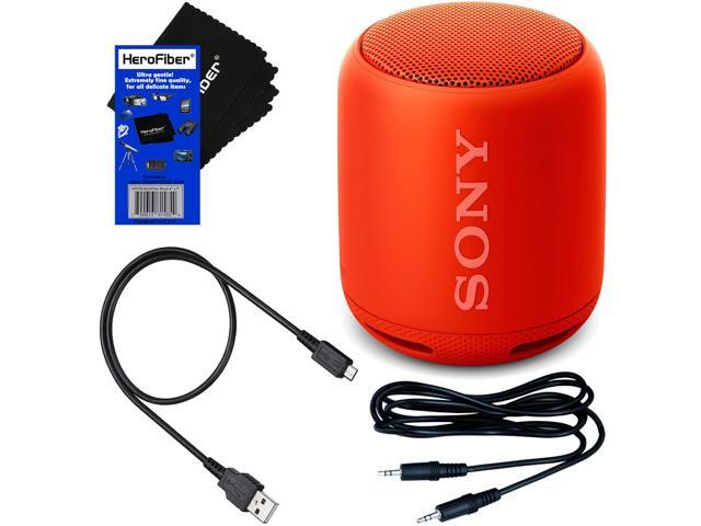 Sony Genuine SRS-XB10 Portable Bluetooth Speaker with EXTRA BASS-Black-New