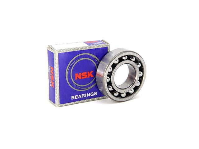 Open 9 mm Width Self-Aligning Ball Bearing 30 mm OD C0 10 mm ID NSK 1200 Straight Bore