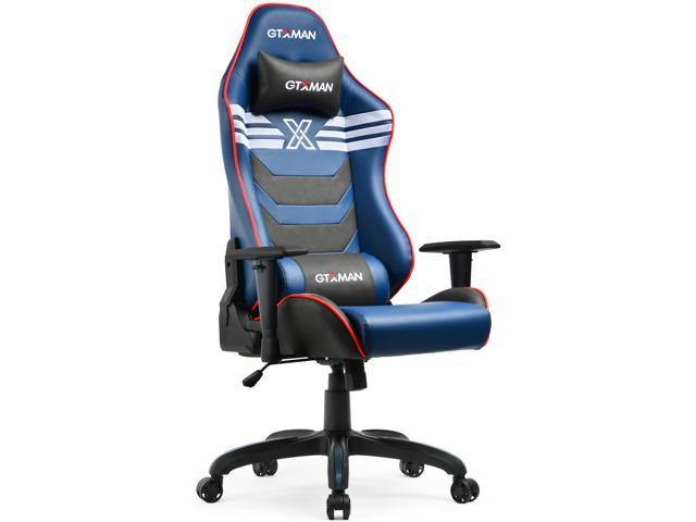 Enjoyable Gtxman Gaming Chair Racing Office Executive Chair Comic Style Video Game Chair Premium Pu Leather Ergonomic Computer Esports Chair For Gamers X 002 Download Free Architecture Designs Scobabritishbridgeorg
