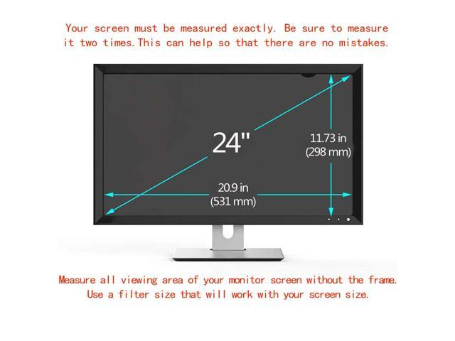 441mm*248mm CYDYSY 20 inch Privacy Filter LCD Screen Protector Film for 16:9 Widescreen Computer