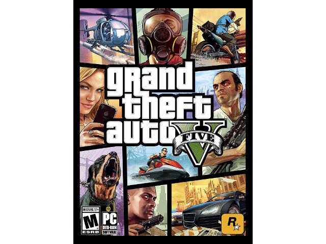 Grand Theft Auto V [PC Download] - Rockstar Social Club Digital Code -  Newegg com