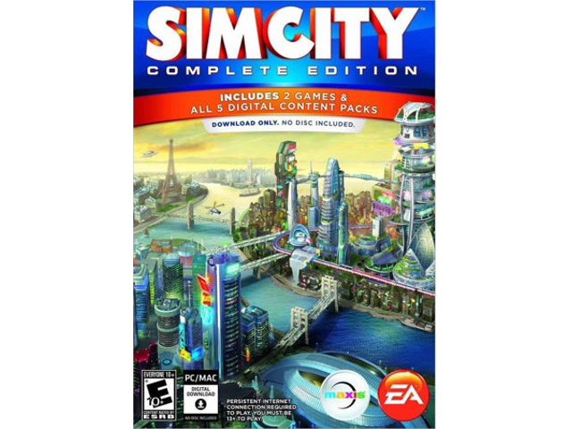 SimCity: Complete Edition [PC Download] - EA ORIGIN Digital Code -  Newegg com