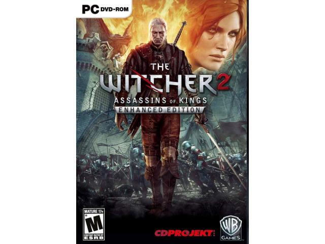 The Witcher 2: Assassins of Kings Enhanced Edition [PC Download] - GOG COM  Digital Code - Newegg com