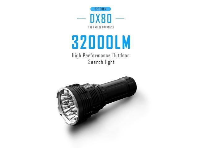 Imalent DX80 CREE XHP70 LED IPX-8 8x LED Smart Flashlight *USA SELLER* 32000lm