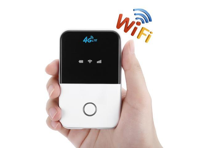 150Mbps Mifi Router Outdoor Travel 3G/4G Wifi Router SIM Card Mobile Wifi  Hotspot 2000mAh Battery 4G LTE Wireless Router Support up to 10 Users -