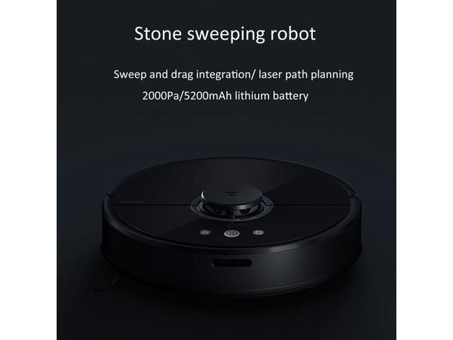 Xiaomi Mi Robot S50 Smart Robo Vacuum Cleaner Mijia Roborock 2-in-1 Sweep  Mop LDS Bumper SLAM 2000Pa Suction 5200mAh Battery - Newegg com