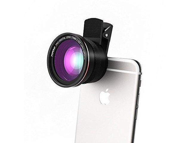 detailed look 13e35 dcceb AZlife Universal Professional HD Camera Lens Kit for iPhone 7 / 6s Plus /  6s / 5s, Cellphone (0.45x Super Wide Angle Lens, 12.0x Super Macro Lens) -  ...