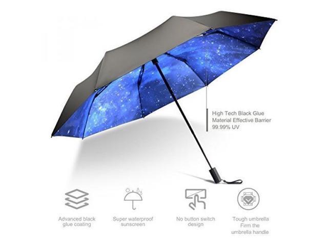 a62281bad High grade portable sun umbrella, black glue anti UV coating, aluminum  alloy umbrella holder, gift boutique, outdoor sunshade, sun block, rain, ...