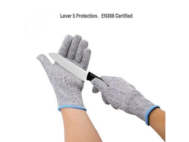 ALMM Cut Resistant Gloves, Level 5 Cut Proof Gloves, EN388 Certified Chef  Safety Gloves for Fillet Butcher, Hand Protection, Kitchen, Cooking,  Outdoor ...