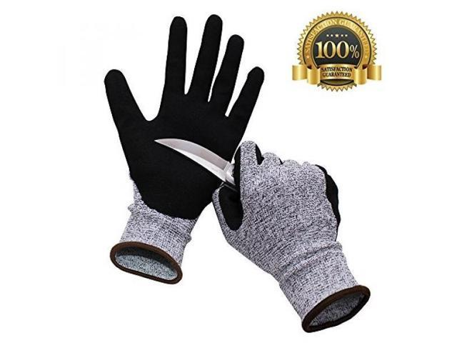 ALMM IFUNLE Cut Resistant Gloves, Highest Performance Level 5 Protection,  Cut Proof Gloves for Hand Safty, Kitchen Cutting, Yard Work, Outdoor Indoor  ...