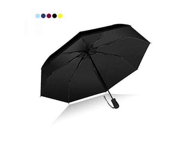b23961b87cd9 Yadacme Automatic Travel Umbrella, Sturdy, Compact, Windproof, UV  Protection 50+ UPF - Rain or shine dual-use - Newegg.com