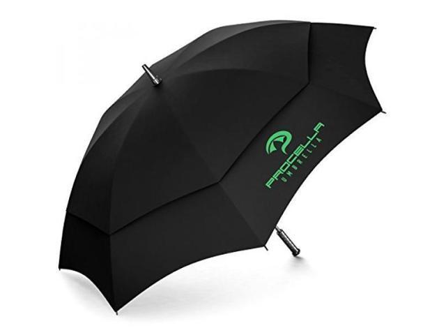 8e40570f06564 Procella Golf Umbrella 62 Inch Large Oversize Windproof Waterproof Automatic  Open Rain & Wind Resistant Vented