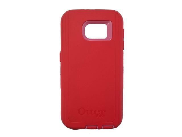 detailed look 24db0 ffb24 OtterBox Defender Series for Samsung Galaxy S6 (Case Only) - Bulk Packaging  - (Scarlet Red/Hibiscus Pink) - Newegg.com